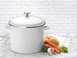 Cuisinart 12-qt. Chef's Classic Stockpot, White