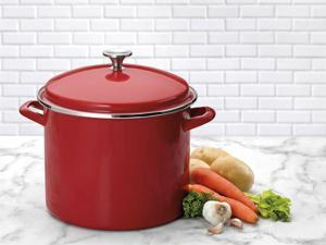 Cuisinart 12-qt. Chef's Classic Stockpot, Red