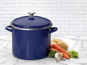 Cuisinart 12-qt. Chef's Classic Stockpot, Blue