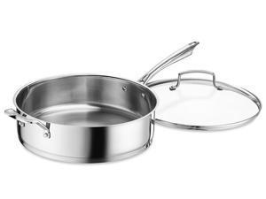 Cuisinart 6-qt. Stainless Steel Professional Series Saute Pan