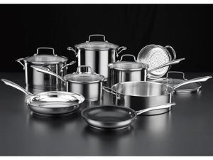 Cuisinart 13-pc. Stainless Steel Professional Series Cookware Set
