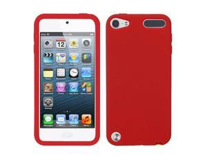 Red Solid Skin Cover Protector Case for iPod Touch 5th Generation