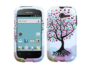 Love Tree Hard Snap on Protective Cover Case for Huawei Ascend Y M866