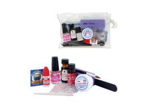 SASSI Professional Nail Acrylic Kit No burn primer/Acrylic Liquid/Powder/Brush