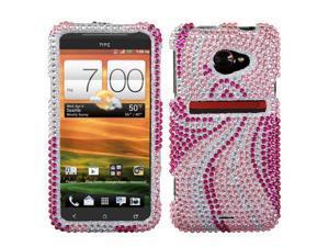 Phoenix Tail Bling Diamond Case +Screen For Evo 4G LTE