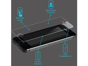 Premium Shatterproof Tempered Glass Screen Protector for iPhone 5 5S