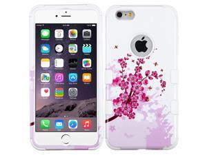 Spring Flowers Impact Design Hybrid Protector TUFF Case for iPhone 6 Plus