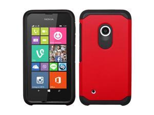 For Lumia 530 Red/Black Hybrid Astronoot Phone Protector Cover Case