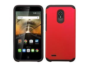 Alcatel OneTouch Conquest 7046T Hard Cover and Silicone Protective Case - Hybrid Red/ Black Astronoot