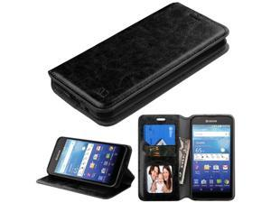 For C6740 Wave Black MyJacket Wallet +Tray Protector Cover Case