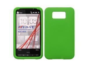 For HD2 Solid Skin Silicone Protector Cover Case (Dr Green)