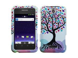 For X500M Score M Love Tree Hard Snap On Phone Protector Cover Case