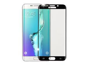 For Galaxy S7 Edge Black Shatterproof Tempered Glass Full Screen Protector
