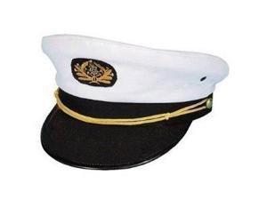Flagship Admiral Yacht Hat - Yellow String