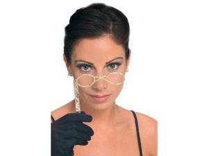 Lorgnette Glasses - Gold