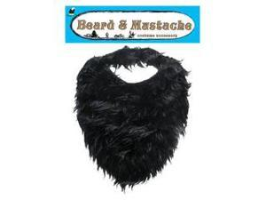 Black Beard And Mustache Accessory