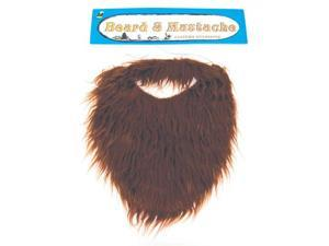 Brown Costume Beard and Mustache