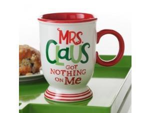 Hallmark Mrs. Claus Got Nothing On Me Mug