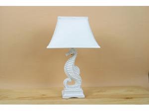 Ceramic Seahorse Lamp