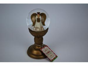 Hallmark Angel Pedestal Snow Globe