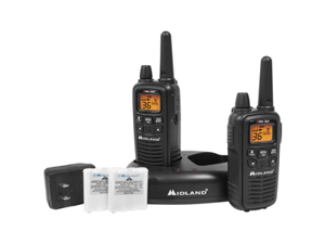 Midland Lxt600Vp3 36 Channel 36 Mile Two - Way RadiosMidland Lxt600Vp3 36 Channel Gmrs Radios  -  Black