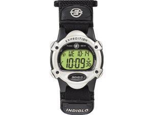 Timex Men's T48061 Expedition Digital Chrono Alarm Timer Black Fast Wrap Velcro Strap Watch - Timex