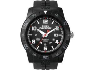 Timex Men's T49831 Expedition Rugged Analog Black Case Black Resin Strap Watch - Timex