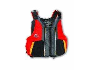 Mti Adventurewear Dio Pfd Life Jacket, Red/Gray, X-Large/Xx-Large - Mti Adventurewear