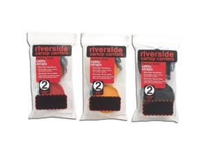 Riverside Cartop Carriers 12-ft Twin Pack Straps (Gold) - Riverside