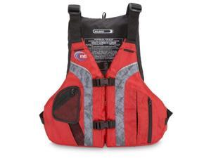 Mti Adventurewear Solaris Pfd Life Jacket, Red/Gray, Large/X-Large - Mti Adventurewear