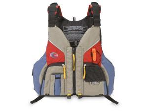 Mti Adventurewear Voyager Pfd Life Jacket, Khaki/Red, X-Small/Small - Mti Adventurewear