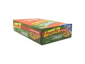 Powerbar Peanut Butter Chocolate Chip Harvest - Box - 15 - Bar - Powerbar