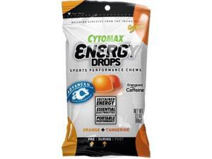 Cytosport - Cytomax Energy Drops Sports Performance Chews Orange And Tangerine - 2.1 Oz. - Cytosport