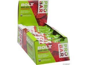 Probar Bolt Organic Energy Chews Gluten Free Strawberry -- 12 Pouches - Probar