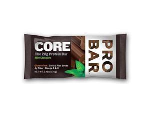 Probar Organic Mint Chocolate Core Bar - Case Of 12 - 2.46 Oz - Probar