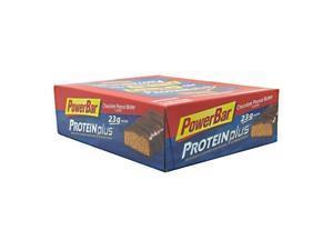 Powerbar Proteinplus High Protein Bar, Chocolate Peanut Butter 12 - 2.75 Oz (78 G) Bars [2.06 Lb (936 G)] - PowerBar