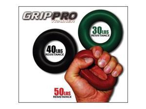 Grip Pro Trainer 30lbs Resistance for Forearm Hand & Finger Strength - Grip Pro Trainer