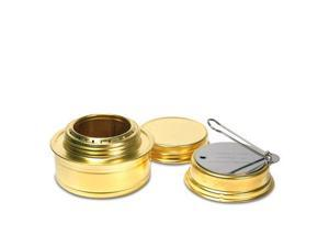 Esbit Brass Alcohol Burner Camping Stove With Variable Temperature Control - Esbit