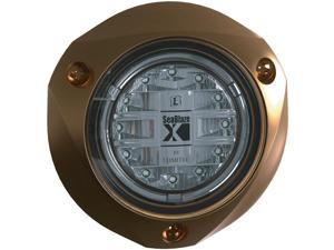 LUMITEC Lumitec SeaBlazeX Underwater Light - Bronze Finish - Blue Light / 101142 /