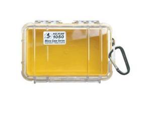 Pelican 1050 Micro Case w/Clear Lid - YellowPelican - 1050-027-100