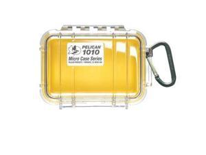 The Amazing Quality Pelican 1010 Micro Case w/Clear Lid - Yellow - 1010-027-100 - Pelican