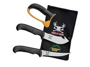 Outdoor Edge Skin N Bone Knife Clampack SN-1C (Hunting/Hunting Equipment)