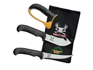 Outdoor Edge Skin N Bone Knife Clampack SN-1C (Hunting/Hunting Equipment)
