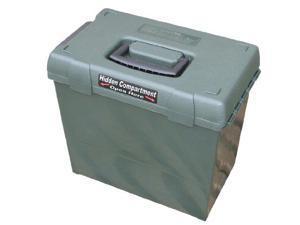 Mtm Sportsmen'S Plus Utility Dry Box (Forest Green, 15-Inch) - Sprtmns Dry Bx 15X8X.8X9.4 Grn