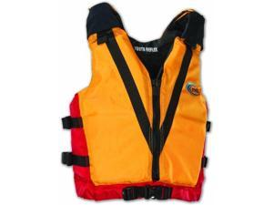 MTI Adventurewear Reflex PFD Life Jacket (Mango/Red, Youth Size/50-90-Pound) - MTI Adventurewear