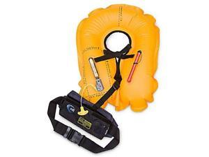 MTI Adventurewear Fluid Inflatable Belt Pack PFD Life Jacket (Moonlight Black) - MTI Adventurewear