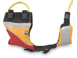 MTI Adventurewear UnderDog Canine Life Jacket (Red/Mango, Medium) - MTI Adventurewear
