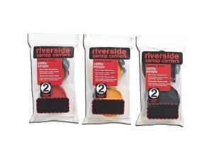 Riverside Utility Straps 6' Blue 2Pk -Heavy Duty Utility Straps