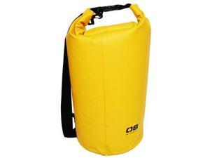 Overboard Dry Tube Bag Deluxe Waterproof 20 Liter Yellow Electronically Welded Nylon Tarpaulin - Overboard