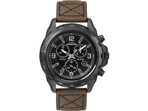 Timex Expedition Rugged Chronograph Watch - Brown/BlackTimex - T49986